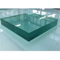 Sound Control Toughened Laminated Glass , Acoustic Laminated Glass For Shower Door