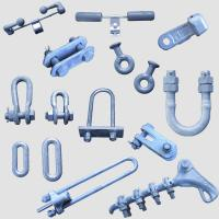 China Power Accessories Transmission Line Fittings Overhead Line Tower Iron Parts on sale