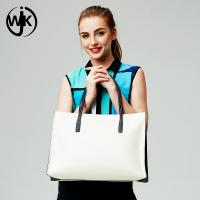 China Fashion custom bag for women Guangzhou factory genuine leather fordable tote bag on sale