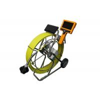Quality Newest Drain CCTV Camera Inspection with handheld monitor and DVR for sale