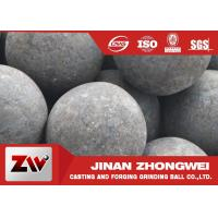 Quality High hardness forged steel grinding media balls / steel mill media for sale