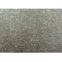 China 60wool40ployster thin stripe  Color Melton Wool Fabric for all people on sale