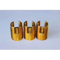 Quality high quality and hot sales Customied self tapping threaded insert M3 M4 M5 M6 M8 M10 Brass inserts for sale