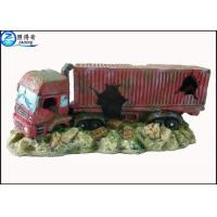 Simulation big truck cool fish tank decorations custom for Cool fish for sale