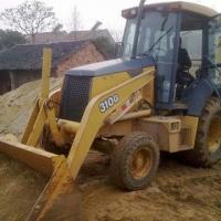 China John Deere Wheel/Backhoe Loader with 1.5T Loading Capacity, Used in Construction on sale
