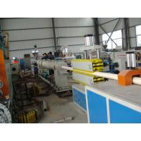 China excellent quality reasonable price pvc drain pipe drainage machine extrusion line production for sale on sale