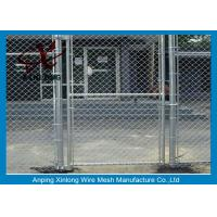 Quality Diamond Hole Chain Link Mesh Fence Galvanized Wire Mesh For Sports Ground Barrier for sale