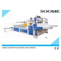 Quality Semi - Automatic Folder Gluer Machine Size 2800mm*340mm For Pasting Carton Box for sale