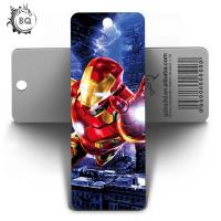 Quality 5.8X15.5CM 3D Lenticular Bookmark With Display For Students / Kids for sale
