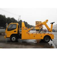 Quality Durable Hydraulic 6000kg Wrecker Tow Truck , Highway / City Road Occasion Breakdown Recovery Truck for sale