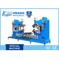 Quality Dual Circular Rolling Seam Welding Machine Alusil Fuel Tank Cap Application for sale