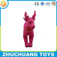 China cartoon deer noise maker bulk traditional christmas gifts crafts on sale