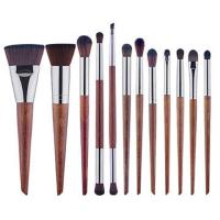Makeup brush set, 10 Brushes Cosmetic Set,Wood Handle Brush,Synthesis Hair for sale