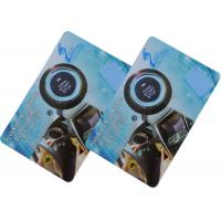 Quality TP68 Waterproof Rfid Transponder Card , Rfid Key Cards With Rfid Car Engine Start Stop Button System for sale