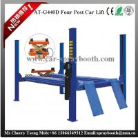 China AT-440D 2.2kw Garage Car Lift , 4 Post Car Lifts For Four Wheel Alignment on sale