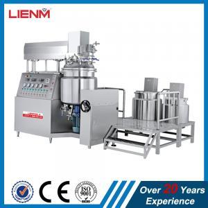 Quality Cosmetic Vacuum Emulsifying Mixer Cream Mixing Machine 500L 300L 200L 100L 1000L for sale