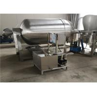 Quality Stainless Steel Meat Tumbler Machine , 1.5kw Hygienic Food Tumbler Machine for sale