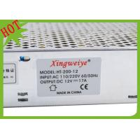 Quality Custom LED Switching Power Supply 110VAC 200mm X 97mm X 38mm for sale