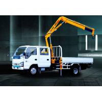 Quality Durable XCMG Knuckle Boom Truck Crane 1400kg Wire Rope Raise for sale