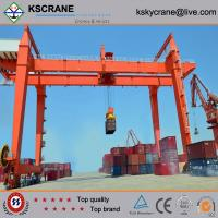 China Overseas Service Double Girder Container Handling Gantry Crane For Container on sale