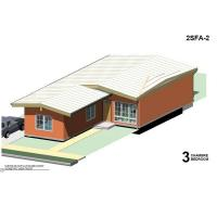 Quality Durable 3 Bedroom Movable Modular Homes Prefabricated Light Gauge Steel Villa for sale