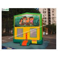 China Commercial Dora Module Inflatable Bounce Houses High Durability on sale