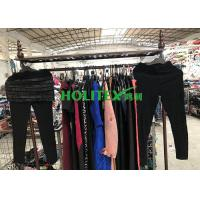 Quality Comfortable Second Hand Womens Clothing South Korean Style Used Ladies Winter Stretch Pants for sale