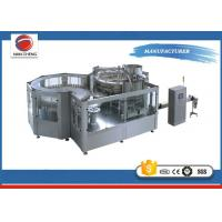 Quality Carbonated Drink Water Bottling Equipment 15000BPH , Automatic Bottling Machine 9.5KW for sale