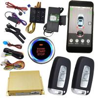 Buy cheap Gps Auto Tracking Vehicle Security Car Alarm With Smartphone App Central Lock Or from wholesalers