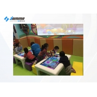 Buy cheap 3D Wall Interactive Projection Touch Screen AR Drawing Table 4 Players from wholesalers