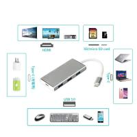 Quality usb type c multiport adapter type c usb hub usb type c adapter 3.1 hub usb-c for sale