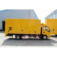 Quality DC24V Electrical Starting Truck Mounted Generator Sets 250kW 9100 * 2500 * 3500mm for sale