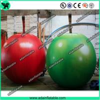 Quality Event Party Advertising Inflatable Fruits Model/Promotion Inflatable Apple Replica for sale