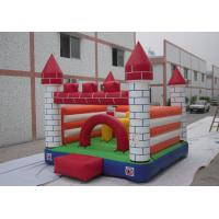 China Oxford fabric Indoor Commercial Bounce Houses / Kids Inflatable Residential Jumping Castle on sale