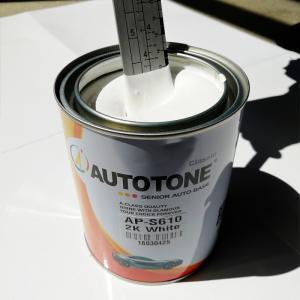 Quality Senior China Car Paint- Auto Paint 2K White Autocryl Topcoat AUTOTONE brand, Toyota White 040,041,058 sales@hccpaint.com for sale
