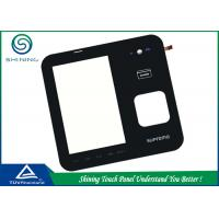 Quality 5 Inch 4 Wire Touch Sensor Panel Resistive With Touch Sensing LCD Modules for sale