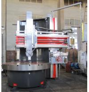 Quality Alloy Wheel Vertical Turret Lathe Machine , Mini CNC Single Column Vertical Lathe for sale