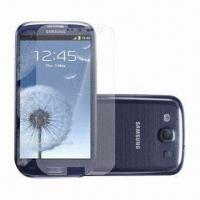 Quality Screen Protector for Samsung Galaxy S3, Bubble-/Fingerprint-free, OEM and ODM Orders are Welcome for sale