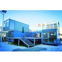 China Neoteric Steel Container Houses Sturdy Durable Customizable Color With Bathroom on sale