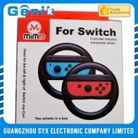China Colorful Joy Con Steering Wheel / Playstation 4 Racing Wheel For Switch Racing Game on sale