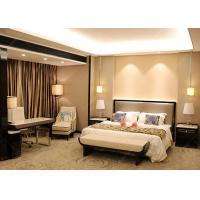 Quality Veneer And Marble Five Star Hotel Furniture , King Size Hotel Style Bedroom Furniture for sale