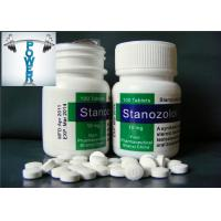 China Stanozolol Tablets 10mg Androgenic Anabolic Steroids Muscle Mass Positive Effects on sale