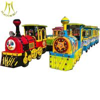 China Hansel  Amusement park  electric trackless train children train rides for sale on sale