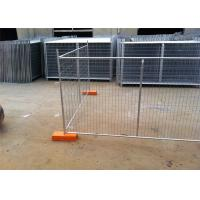 Quality 14 Microns Standard Secure Temporary Fencing Building Site Security Fencing for sale