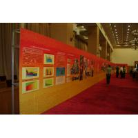 Quality 80 X 200cm, 85 X 200cm  indoor roll up horizontal vinyl banner Retractable stand for sale