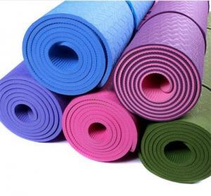 China High density eco-friendly custom print TPE EVA NBR yoga mat on sale