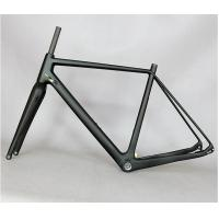 Quality Lightweight Carbon Cyclocross Frameset , Road Cx Disc Brake Cyclocross Frame And Fork for sale