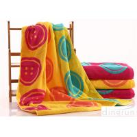 Woven Dye Yarn Organic Cotton Bath Towels Colorful OEM Available