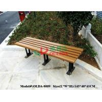 Quality Rotproof Wood Plastic Composite Bench Anti - UV Color Stability No Cracking for sale