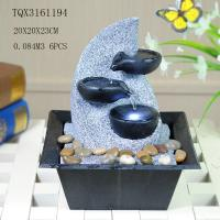 Quality Fashionable Design Polyresin Water Fountain Handmade For Shop Decoration for sale